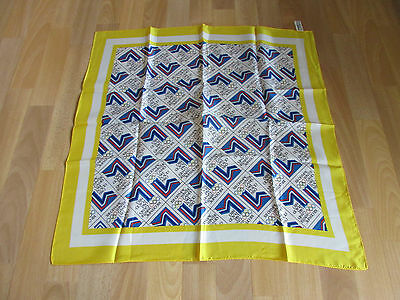 Lovely LAKE Placid  Winter OLYMPICS 1980 Yellow Scarf  - SEE PICTURES