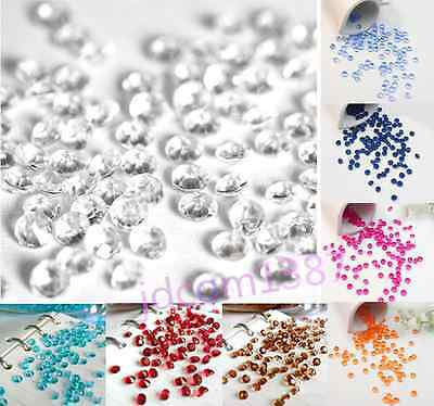2000pcs Crystals Diamond Table Confetti Scatters Party Wedding Decoration 4.5mm
