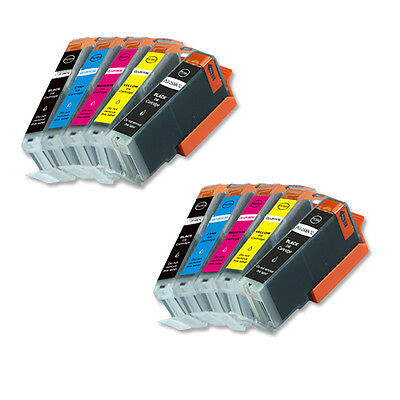 10 New Ink Combo Pack for Canon PGI-250 CLI-251 Pixma MG5622 MG6622 MG5522