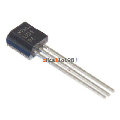 5pcs LM35DZ LM35 TO-92 NSC TEMPERATURE SENSOR IC Inductor