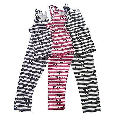 NEW Zara Little Girls Leggings Outfit 2 Piece Striped Size 4-5 5-6 Cotton Kids