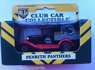 Nrl Rl 1995 Limited Edition Penrith Panthers Matchbox 38 A Model Ford Car