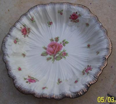 Pretty Vintage Crown Ducal England Roses Bowl