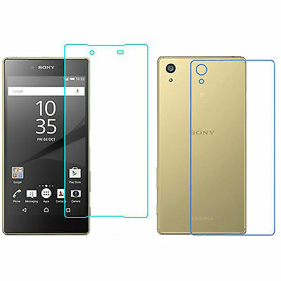 Gorilla Front + Back Tempered Glass Screen Protector for Sony Xperia Z5
