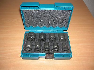Makita D-41517 9Piece 1/2in Impact Socket Set