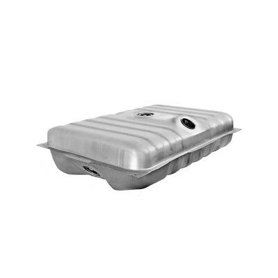 71 - 73 Mustang Fuel / Gas Tank - Galvanized / Without Drain Plug / 22 Gallon