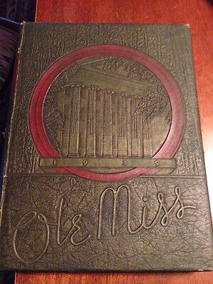 1939 University of Mississippi,Ole Miss Yearbook,Oxford Mississippi