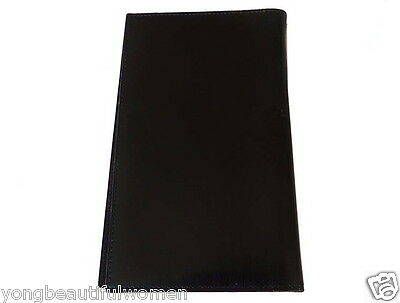 AUTHENTIC Hermes Agenda Note Cover MM Black Box Calf Leather