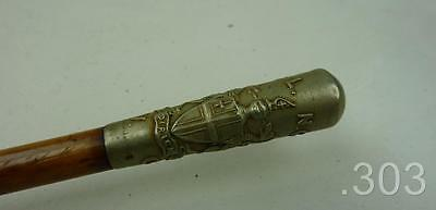 WWI CLNGVC City of London National Guard Volunteer Corps Swagger / Parade Stick