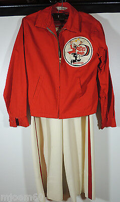 Vintage 1950's Ozzies Marching Chargers Band Jacket & Pants