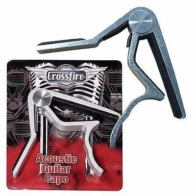 New Crossfire Trigger Style Capo for Acoustic Guitars