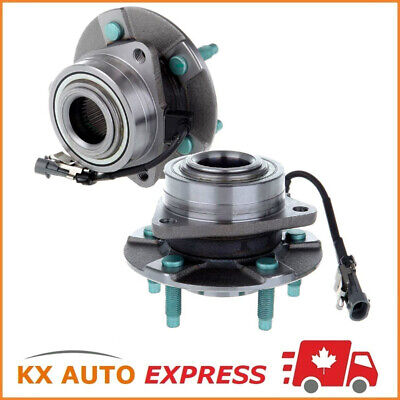 PAIR 2x FRONT WHEEL HUB BEARING ASSEMBLY FOR CHEVROLET EQUINOX 2005 2006 w/ABS