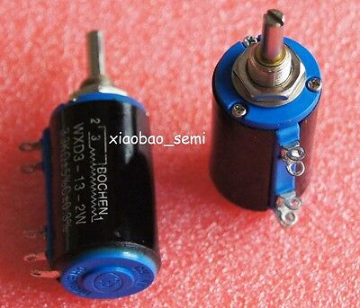 WXD3-13-2W 10K Ohm Multi-Turn Wirewound Potentiometer