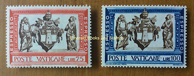 EBS Vatican City Città del Vaticano 1960 Express (Works of Mercy) E15-16**