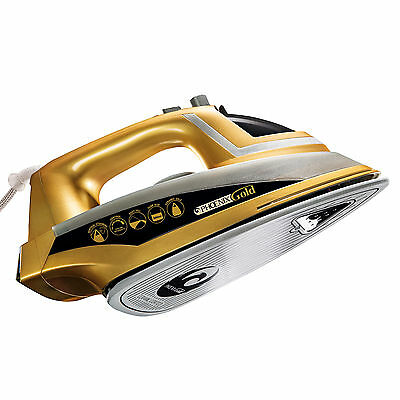 Phoenix Gold: Iron With Built-In Steam Generator & Ceramic Sole Plate 2200W