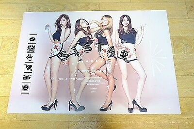 Sistar - TOUCH & MOVE (2nd Mini Album)  Official POSTER* KPOP