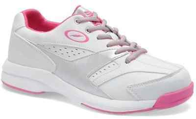 NEW Storm Mariah Women's Bowling Shoes, White/Grey/Pink, Size 8.5