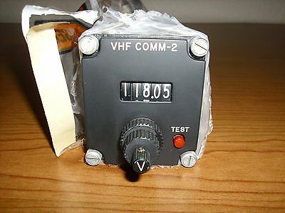 Avtech VHF Comm Control Unit 5104-1-2 with FAA 8130