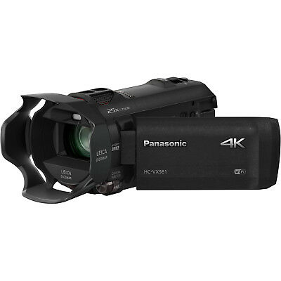 Panasonic HC-VX981 Wi-Fi 4K Ultra HD Video Camera Camcorder
