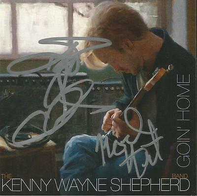 Kenny Wayne Shepherd Band Autographed Goin' Home CD Deluxe Edition Signed by 3
