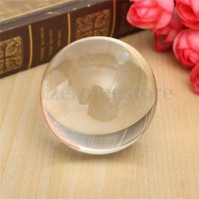 Clear UV Translucent White Acrylic Contact Juggling Ball 50mm 164g Carom HOT