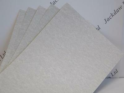 20 x Parchment Heavyweight Paper A4 176gsm Oatmeal Certificates Cardmaking AM354
