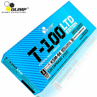 T-100 Ltd Edition 30-180 Caps. Clinical Daa & Very Strong Testosterone Booster