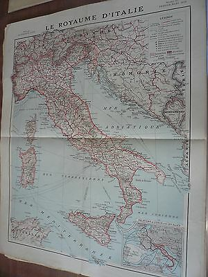 Carte, Le Royaume d' Italie, , 1918, World FREE Shipping*