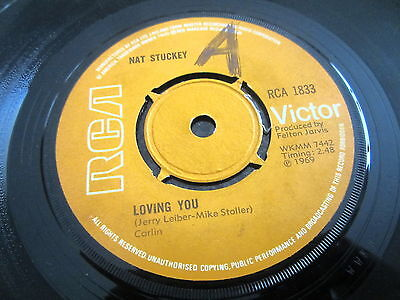 "Nat Stuckey ""loving You"" 1969 Uk Press 7"""