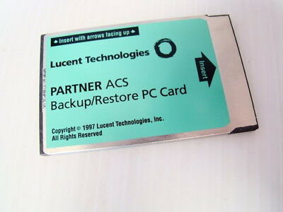 Avaya Partner ACS 12A1 PC Card 107932071 Backup Restore WRNTY