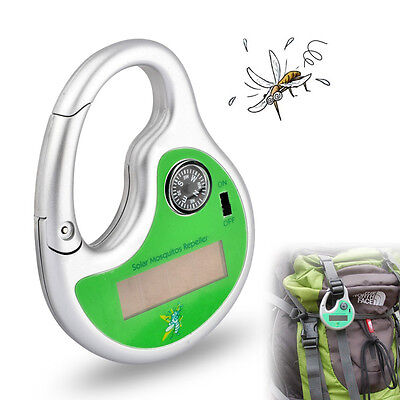 Ultrasonic Electronic Anti Mosquito Insect Pest Repeller Compass Solar Charging