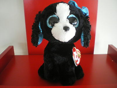 Ty Beanie Boos TRACEY the  6 inch dog NWMT.  BRAND NEW JUST ARRIVED..