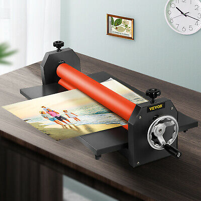 39In 1000MM Manual Cold Roll Laminator Vinyl Photo Film Laminating Promotion