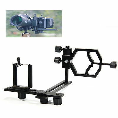 Universal Astronomical Telescope Camera Metal Adapter Mount Phone Bracket DC626