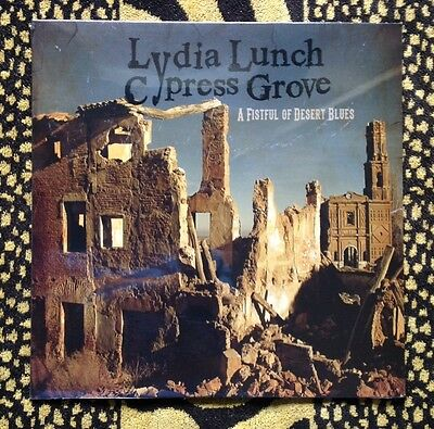 LYDIA LUNCH & CYPRESS GROVE / A FISTFUL OF DESERT BLUES - LP (2014 red vinyl)