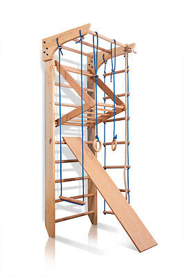Wall Bars Sport Swedish Ladder Children Home Gymnastic Kids Baby Play Gym Wood