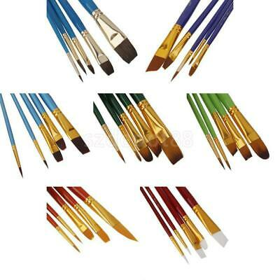 Artist Art Paint Brushes Set/Kit For Watercolour Oil Painting Face Paints Craft