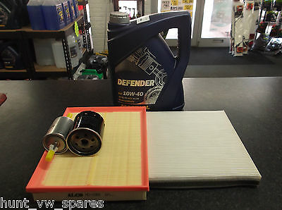 Vauxhall Zafira 1.6 1.8 Service Kit Oil Air Fuel Cabin Filters 5 Litres Oil