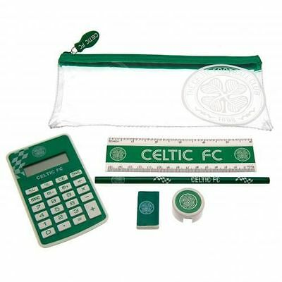 Celtic FC Exam Stationery Set Pencil Gift New Official Licensed Football Product
