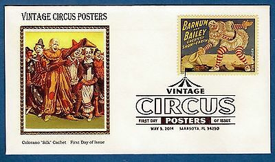 Colorano 4898 Vintage Circus Poster Barnum Bailey Greatest Show Earth ClownCover