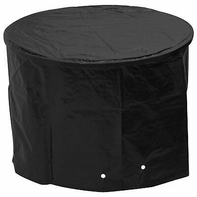 Woodside Black Waterproof Outdoor Garden Kettle Barbecue/BBQ Cover