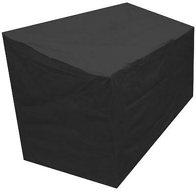 Oxbridge Black Companion Seat Waterproof Outdoor Garden Furniture Cover