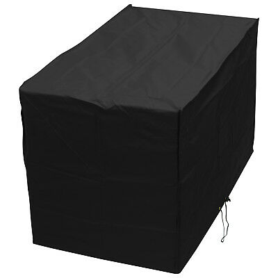Oxbridge Black Extra Large Barbecue/BBQ Waterproof Outdoor Garden Cover