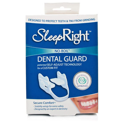 SleepRight Secure Comfort Dental Guard Teeth Grinding Protection FreshGuard Tabs