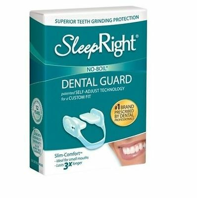 SleepRight Slim Comfort Dental Guard Teeth Grinding Protection FreshGuard Tablet