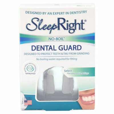 SleepRight Select Dental Guard Teeth Grinding Protection FreshGuard Tablets