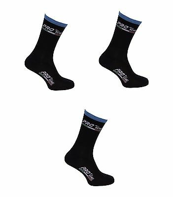 Kit Combo 3 Paia Calzini Ciclismo Proline Team Sky Cycling Socks One Size 39/46