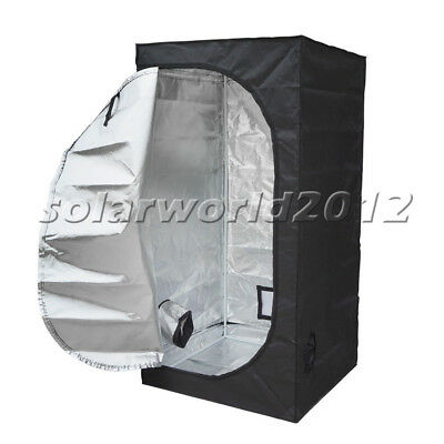 "31""x31""x63"" Indoor Grow Tent Room Reflective Mylar Hydroponic Non Toxic Hut New"