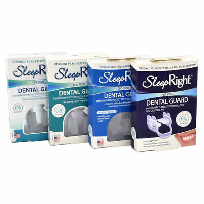 SleepRight Slim Dura Secure Select Comfort Dental Guard Teeth Grinding Protect