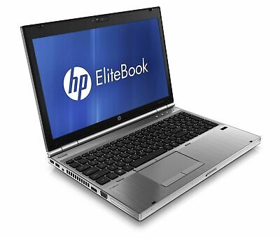 "HP Elitebook 8560p i5-2540m 2.67Ghz 4GB 250 15.6"" Notebook Win 10 Pro Laptop"